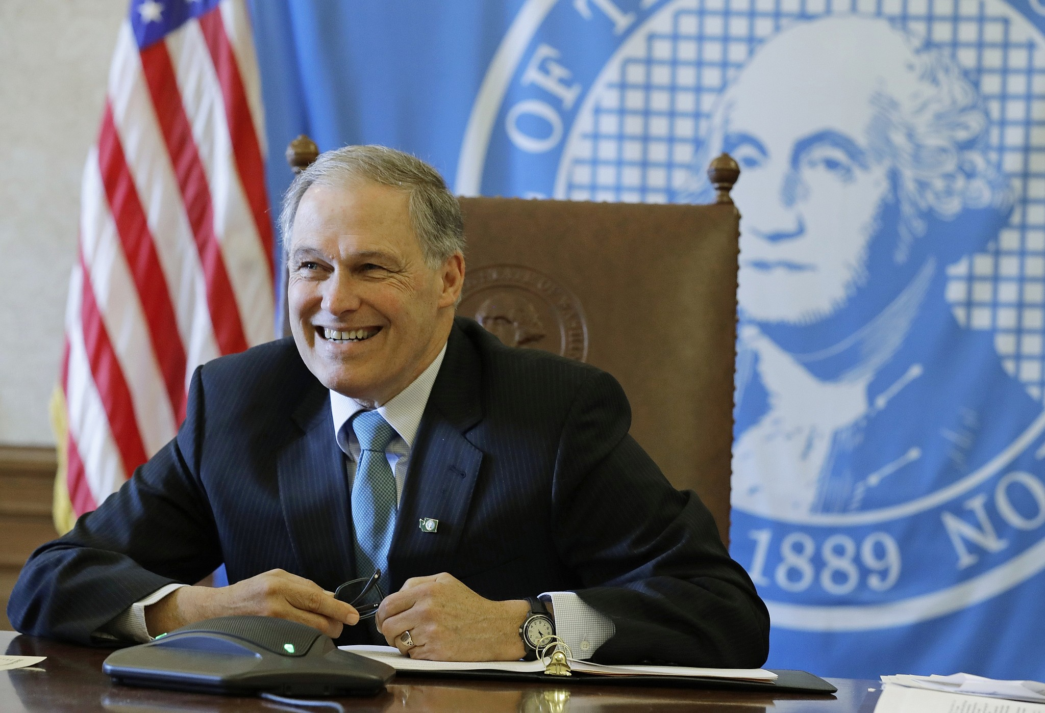 Washington Gov. Jay Inslee Joins 2020 Democratic Presidential Field