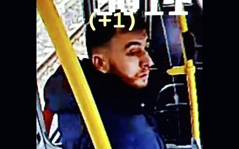 This image made available on March 18, 2019 from the Twitter page of the Utrecht Police, shows an image of 37-year-old suspected gunman Gokmen Tanis, who police believe carried out a deadly shooting on a city tram that day. (Police Utrecht via AP)