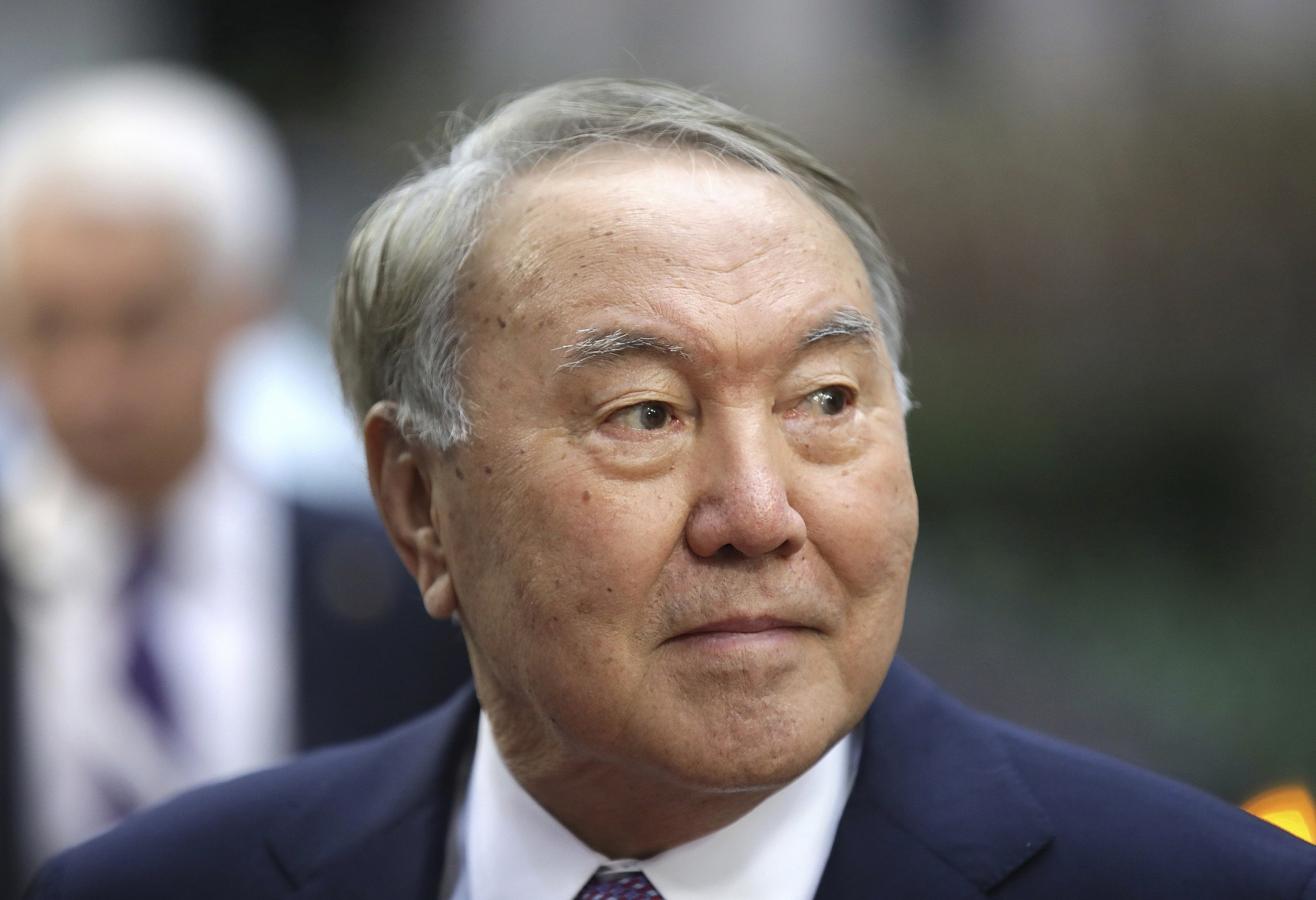 Kazakh President Nursultan Nazarbayev announces resignation
