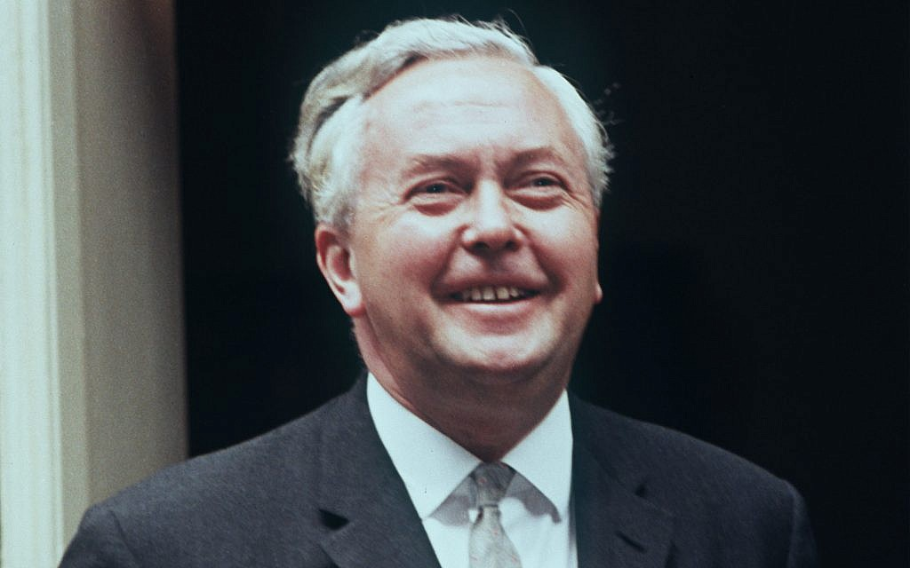 Harold Wilson, Prime Minister of England. undated. (AP Photo)