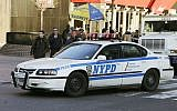 A New York Police Department Chevrolet Impala squad car turns a corner Thursday, Feb. 9, 2006 in New York (AP Photo/Frank Franklin II)
