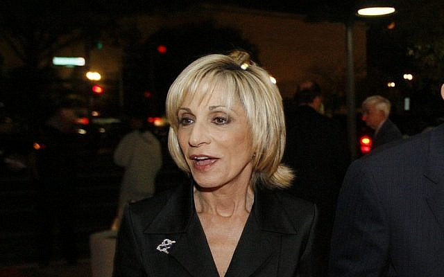 NBC News chief foreign affairs correspondent Andrea Mitchell at the 60th anniversary celebration of NBC's Meet the Press at the Newseum in Washington, Wednesday, November 14, 2007. (AP Photo/Charles Dharapak)