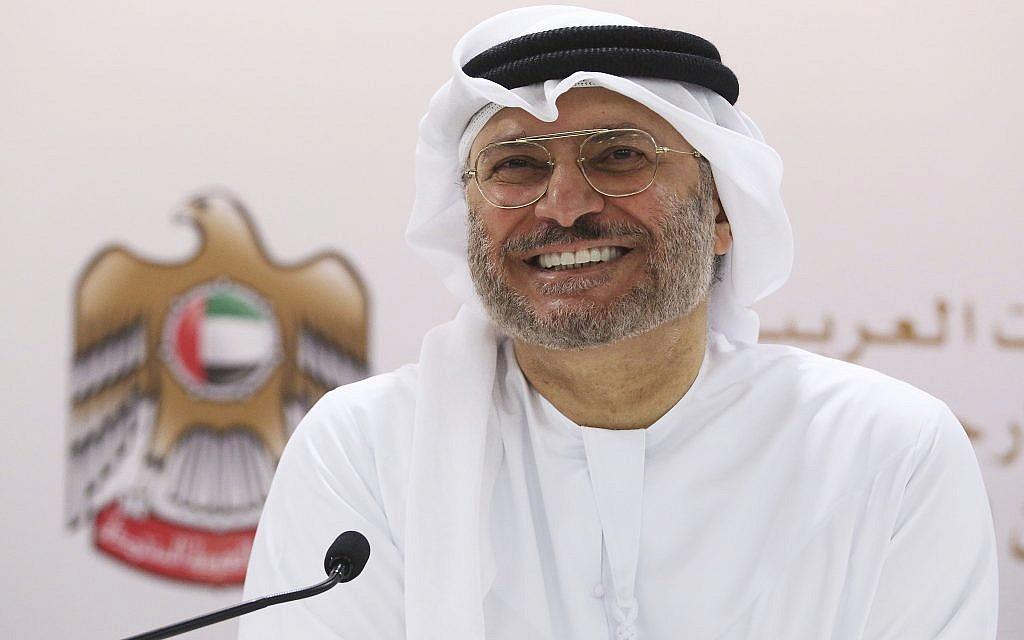 Senior UAE official calls for 'strategic shift' in Arab-Israel relations