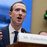 In this file photo from April 11, 2018, Facebook CEO Mark Zuckerberg testifies before a House Energy and Commerce hearing on Capitol Hill in Washington about the use of Facebook data to target American voters in the 2016 election and data privacy. (AP Photo/Andrew Harnik, File)