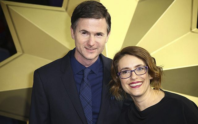 Directors Ryan Fleck and Anna Boden pose for photographers upon arrival at the premiere of the film 'Captain Marvel', in London, February 27, 2019. (Photo by Vianney Le Caer/Invision/AP)