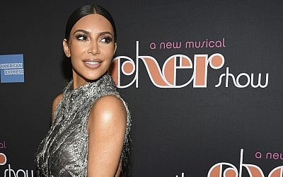 In this photo from December 3, 2018, Kim Kardashian West attends 'The Cher Show' Broadway musical opening night at the Neil Simon Theatre in New York. (Evan Agostini/Invision/AP, File)