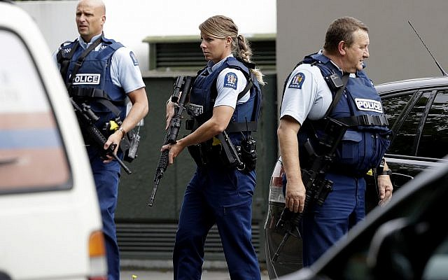 'Shots fired' near mosque in New Zealand
