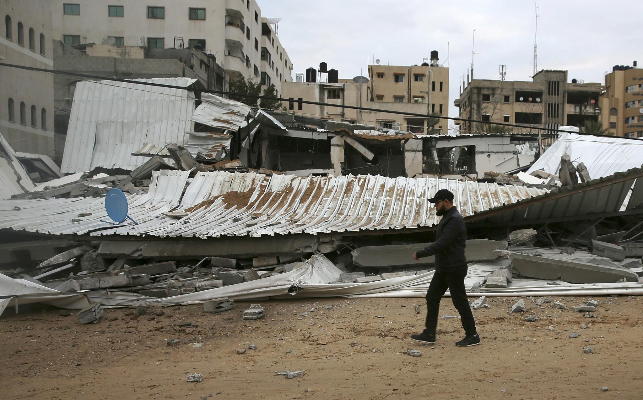 HESTER: Israeli airstrike gaza strip