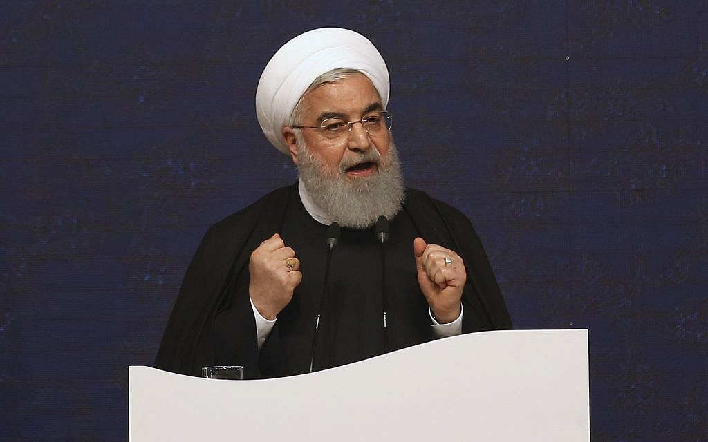 Rouhani slams Trump's 'colonial' recognition of Israeli Golan Heights