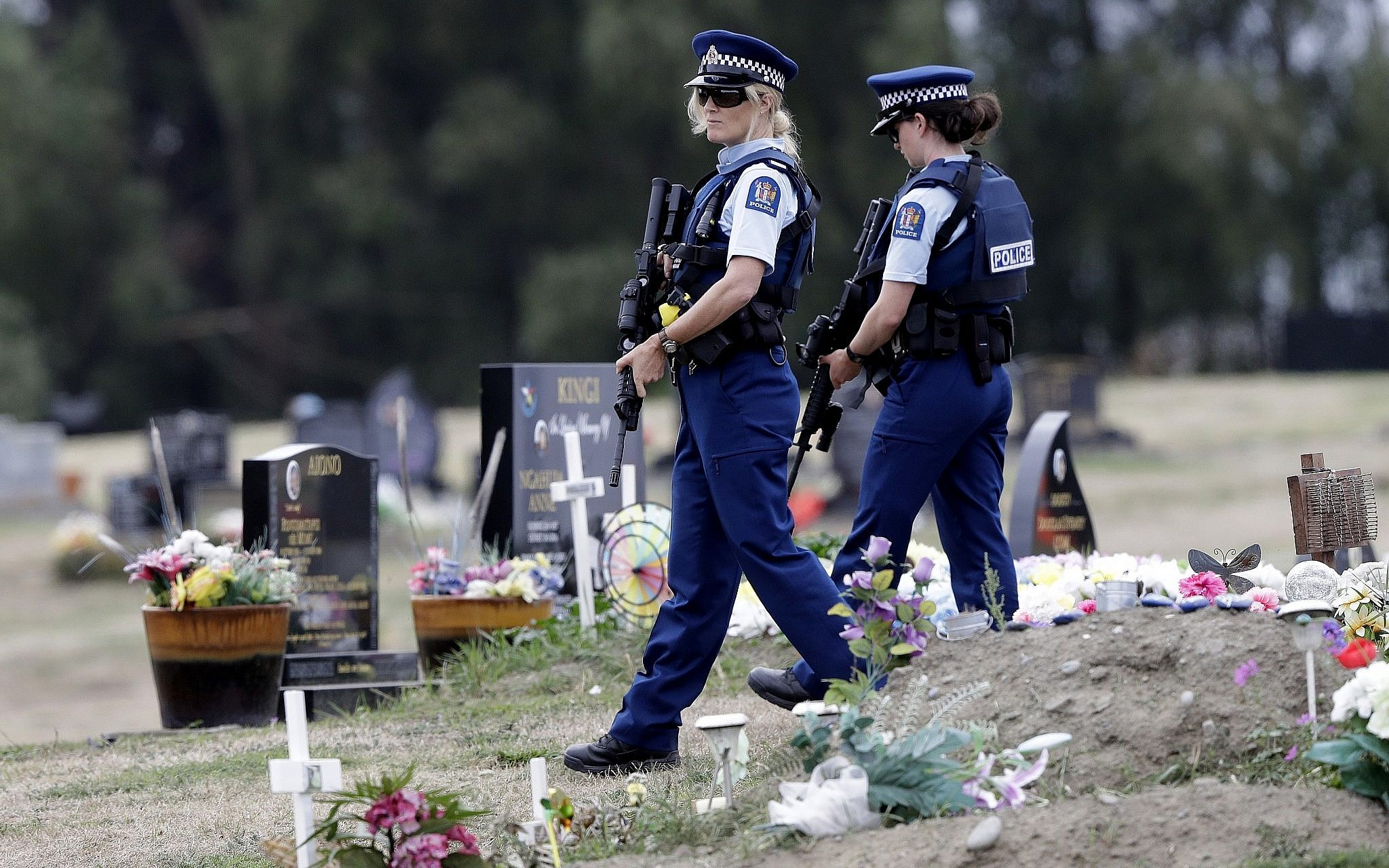 New Zealand police chief says only one shooter involved in Christchurch attack