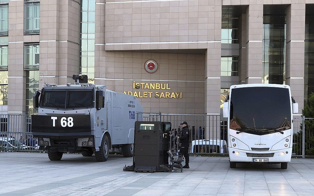Trial of US consulate worker opens in Istanbul