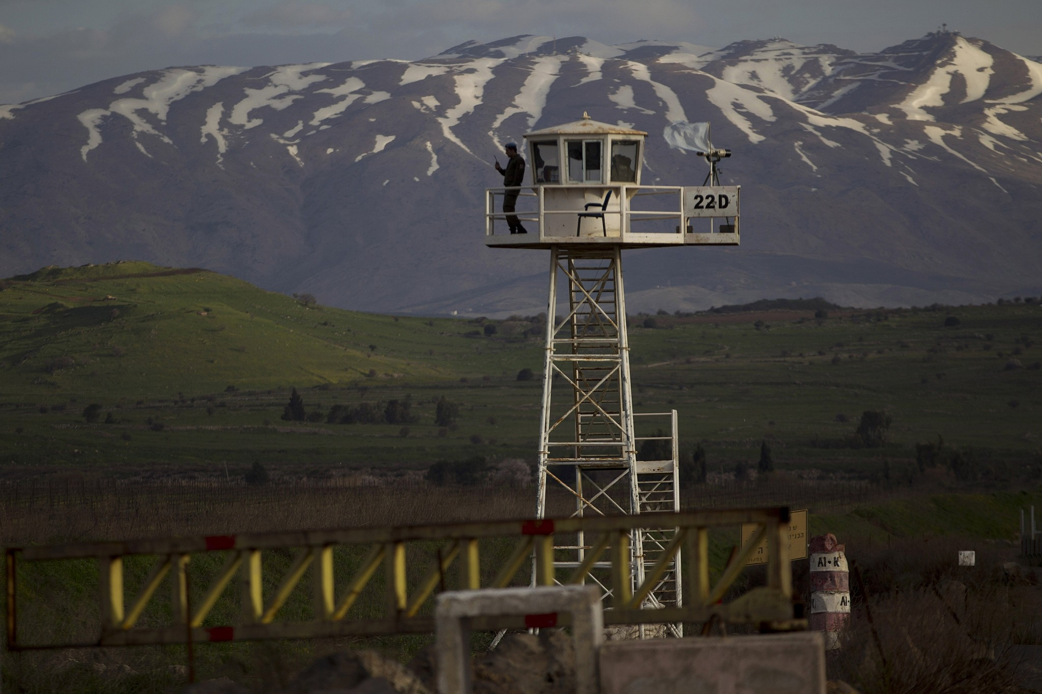 U.S. Should 'Fully Recognize' Israeli Sovereignty over Golan Heights