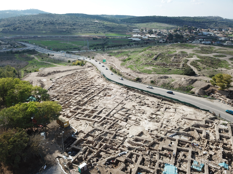 Beit Shemesh New Construction: In Beit Shemesh, New Highway Collides With Surprise