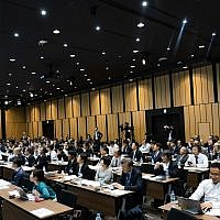 The Japan Israel Summit which took place in Tokyo in November 2018 was organized by Million Steps to boost collaboration between Israeli startups and Japanese manufacturing firms (Courtesy)