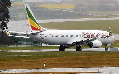 An Ethiopian Airlines Boeing 737 plane. (Wikipedia/Anna Zvereva/CC BY-SA)