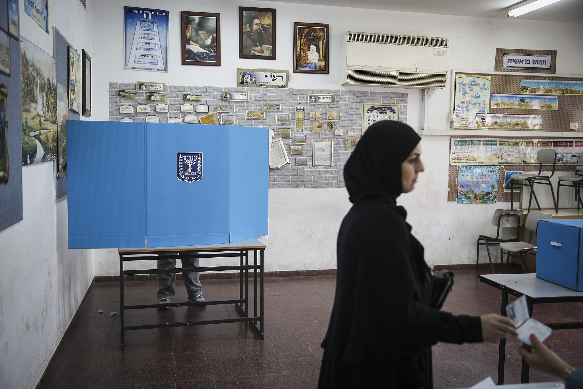 Million israelis eligible to vote in coming election central