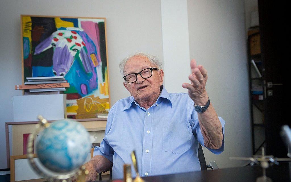 Rafi Eitan Ex Minister And Legendary Spy Who Captured