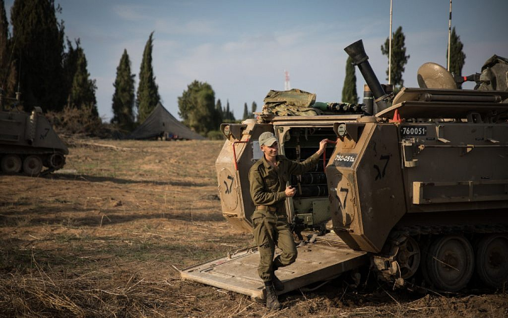 Senior official says no ceasefire with Hamas, as troops remain on Gaza border