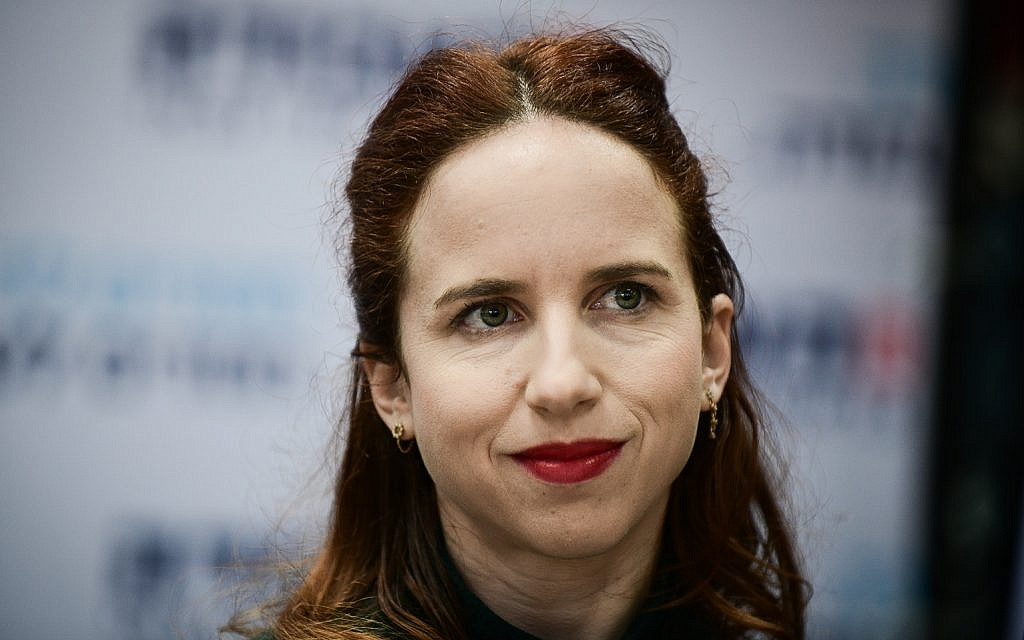 Labor party MK Stav Shaffir, February 2019 (Tomer Neuberg/Flash90)