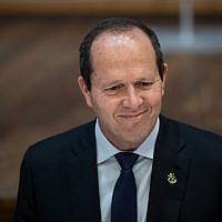 Likud MK and former Jerusalem mayor Nir Barkat. (Yonatan Sindel/Flash90)