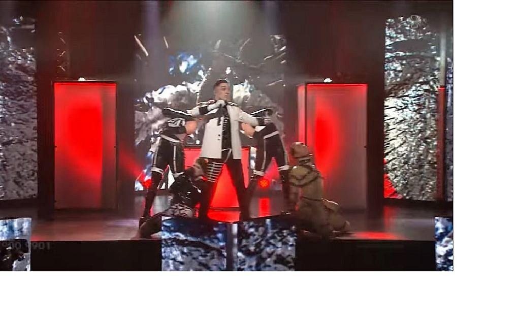 man vs machine eurovision