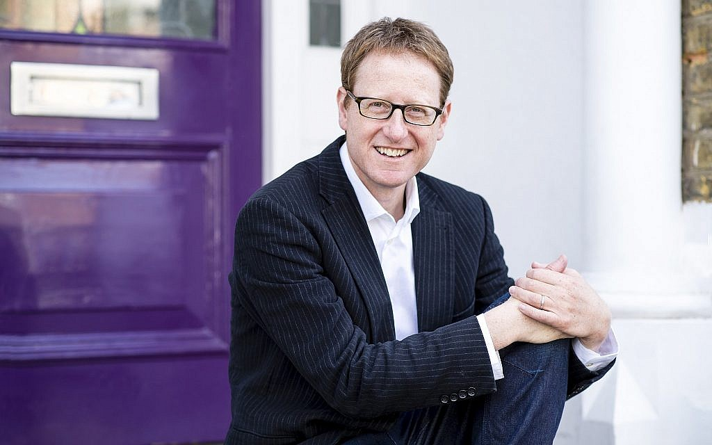 Jewish author Jonathan Freedland. (Philippa Gedge)