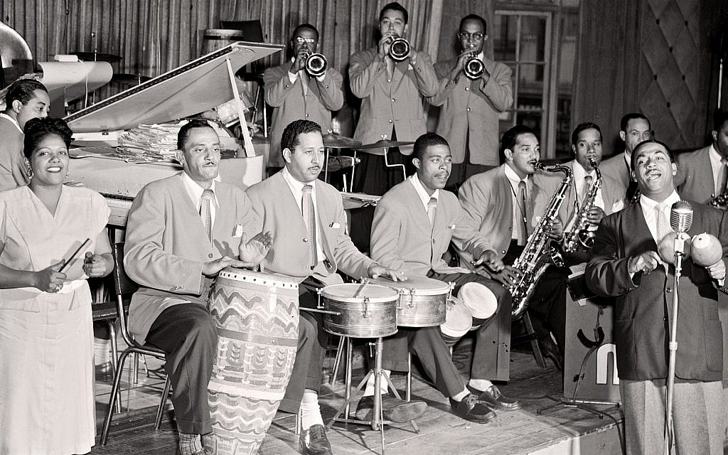 Famed Cuban jazz musicians Machito & His Afro-Cubans, onstage. (Courtesy Lex Gillespie)
