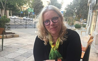 Beit Venezuela administrator Rivka Lobl Mitelberg. (Federico Maccioni/ Times of Israel)