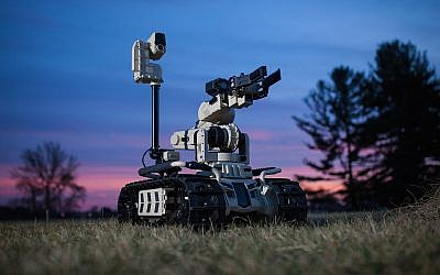 US and Israel-based Roboteam will supply the Italian Carabinieri with 40 Transportable Interoperatble Ground Robot (TIGR) systems (Courtesy)