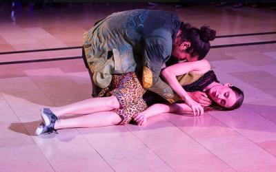 From Kolben Dance's newest piece, 'Orpheus,' premiering April 7, 2019 as part of the Jerusalem Arts Festival (Courtesy Kolben Dance)