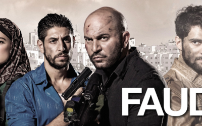 A promo poster for season 3 of 'Fauda,' featuring both familiar and new faces (Courtesy 'Fauda' Facebook page)