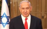Prime Minister Benjamin Netanyahu gives a statement on the submarine affair, Friday, March 22, 2019 (video screenshot)