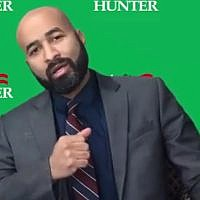 Dario Hunter, a 35-year-old rabbi who serves on the Youngstown (Ohio) Board of Education, is running for the 2020 Green Party presidential nomination. (YouTube screenshot)