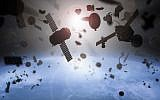 Illustration of space junk. (Petrovich9/iStock by Getty Images)
