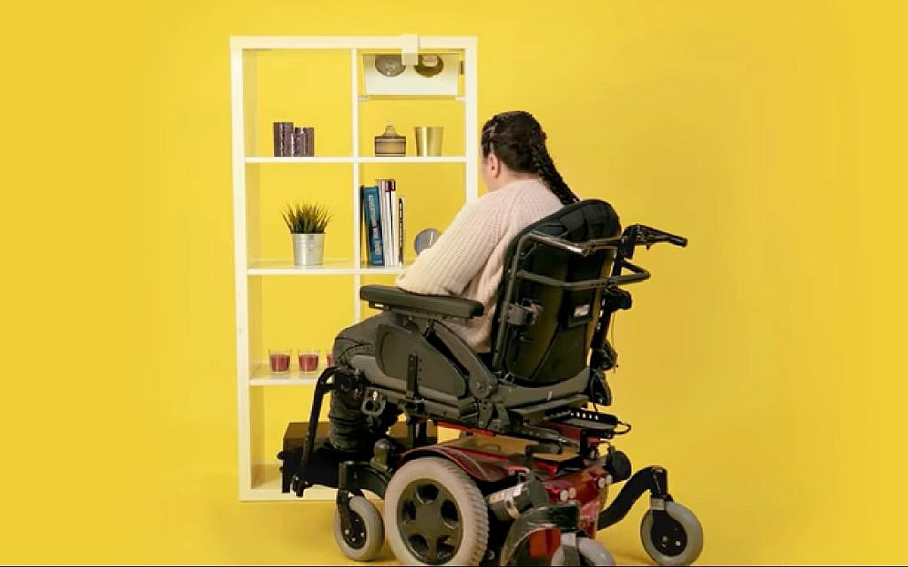 Excellent Ikea Teams With Israeli Groups To Make Products Accessible Onthecornerstone Fun Painted Chair Ideas Images Onthecornerstoneorg