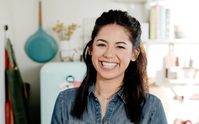 Molly Yeh fuses her two heritages in her recipes. (Molly Yeh/Instagram via JTA)