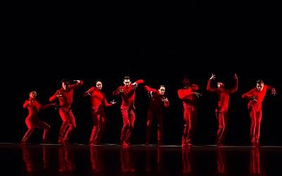 From the Aspen Sante Fe Ballet's performance of 'Huma Rojo' (Courtesy Aspen Santa Fe Ballet)