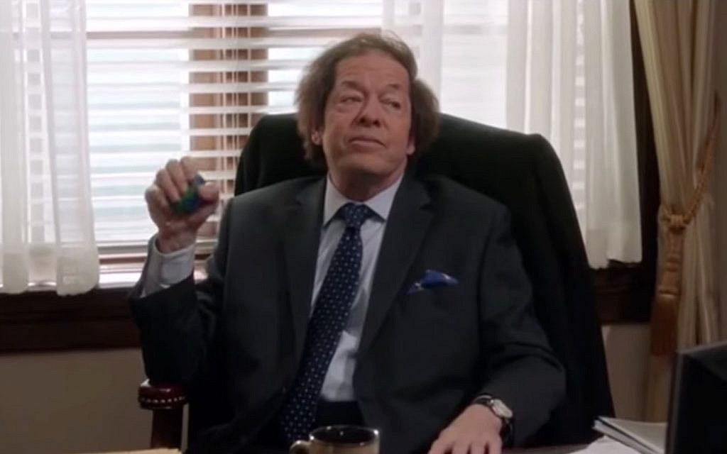 Sherman Tanz, played by Jonathan Hadary,  on the HBO series 'Veep.' (YouTube screenshot)