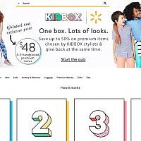 US-Israeli startup KIDBOX allows children to get personalized boxes of clothes from Walmart at cheaper prices, company says (Courtesy)