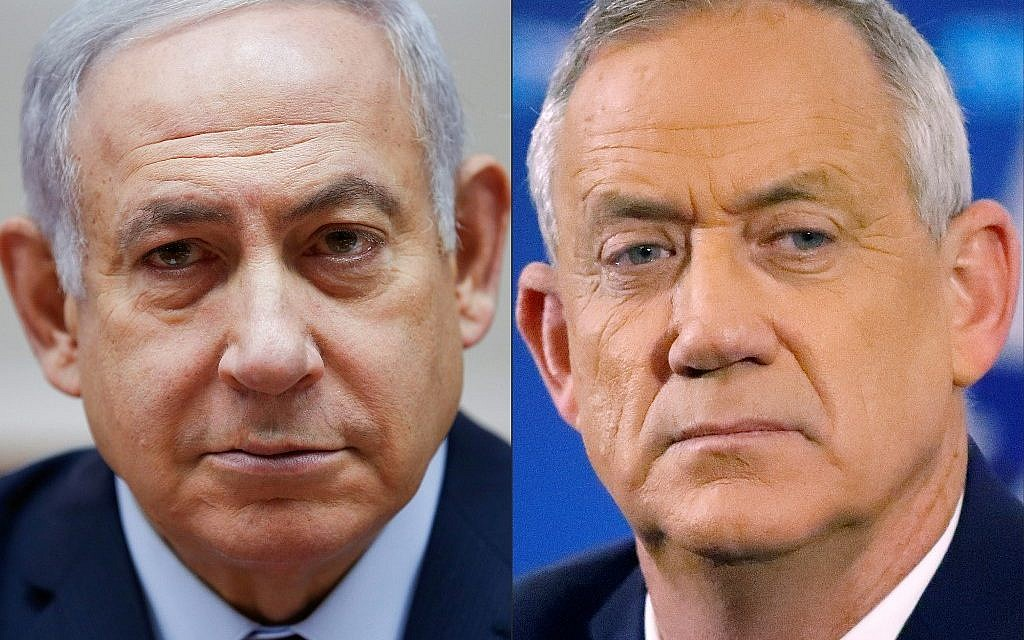 Poll: Likud tied with Blue and White, neither has clear path to majority
