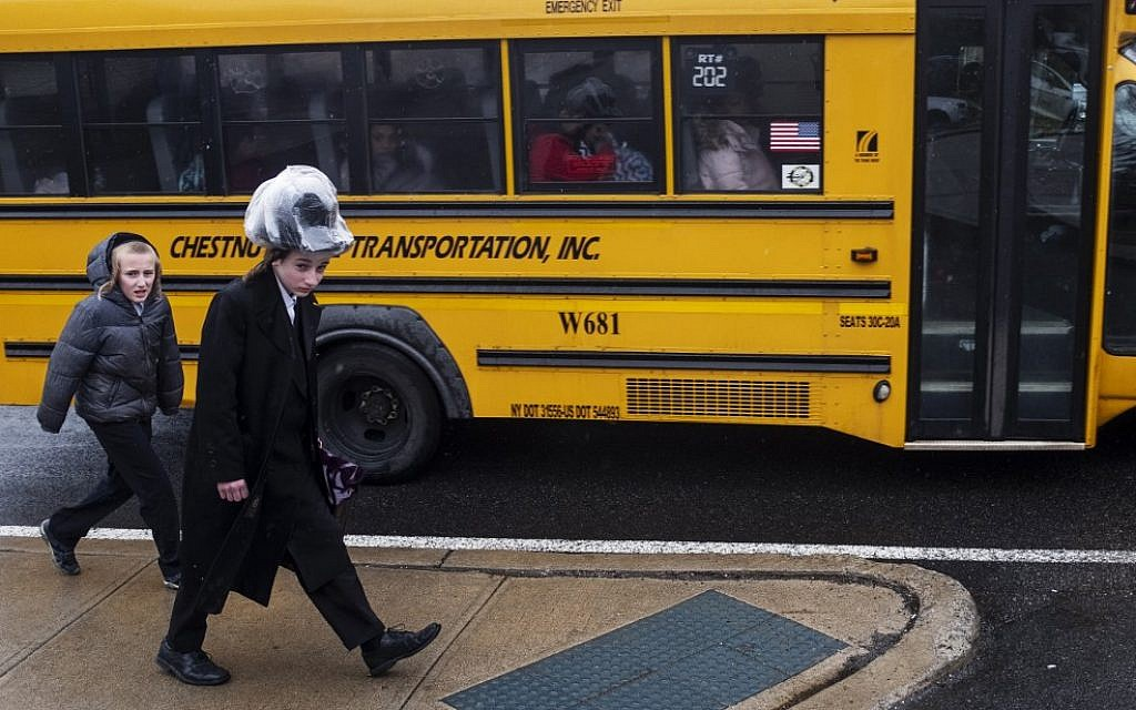 New York accuses upstate town of 'systematic effort' to bar Hasidic Jews