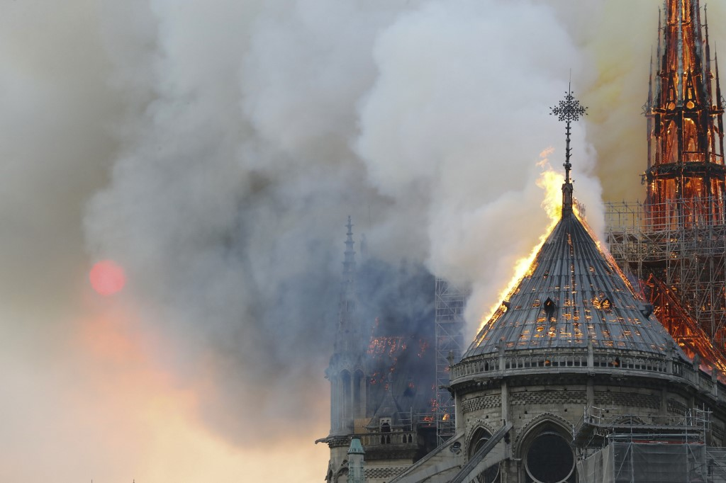 Amul's cartoon on Notre Dame fire is dedicated to France's resilience