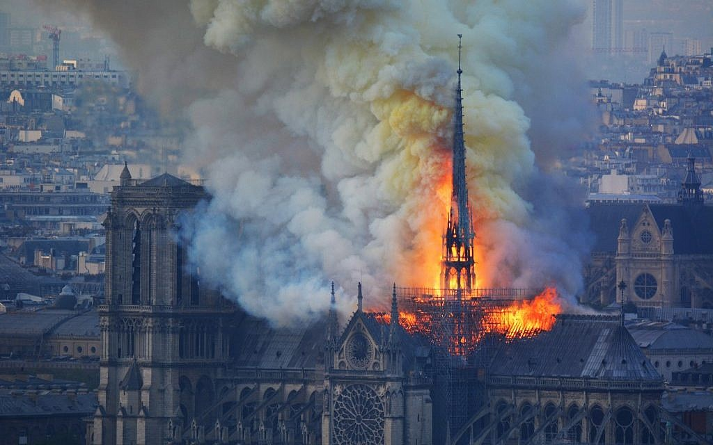 Radical rabbi says Notre Dame fire retribution for 13th century Talmud burning