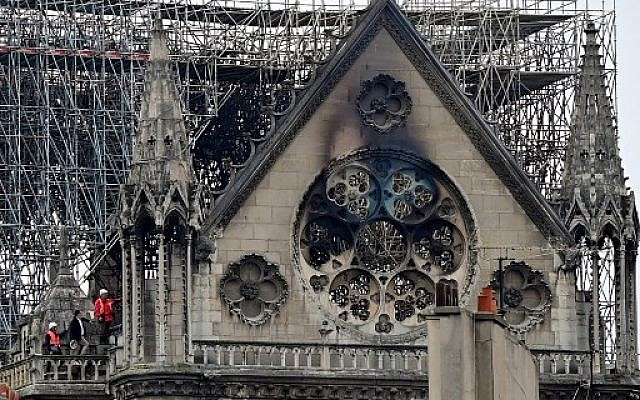 How long to rebuild Notre Dame? Experts have only a hunch