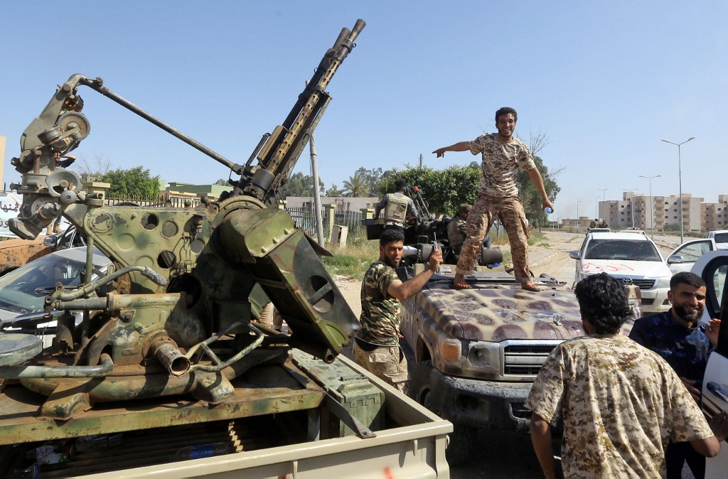 UN says 220 killed in two days of fighting over Libya's