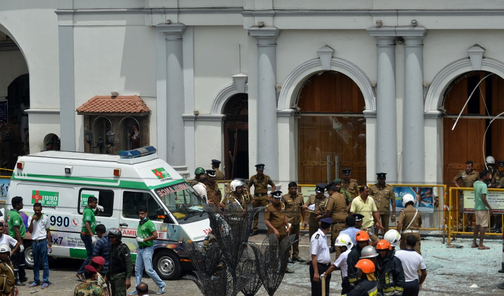 Sri Lanka blocks social media, messaging apps after deadly attack