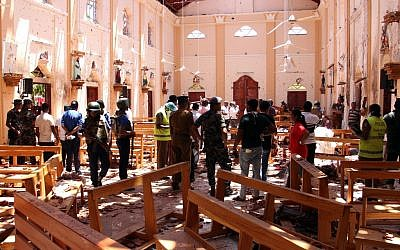 Sri Lanka's multiple blasts kill 228, injure 450