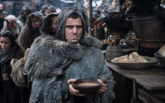 """Former CIA deputy chief David Cohen appears in an undated ohoto as an extra in """"Game of Thrones. (Twitter via JTA)"""