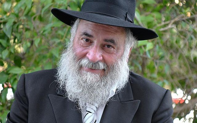 Rabbi Yisroel Goldstein of Chabad of Poway, California. (Facebook)