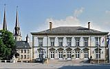 A view of Luxembourg City's City Hall in 2008. Hundreds of real estate properties in the city could be subject to Holocaust restitution claims. (Wikimedia Commons/via JTA)